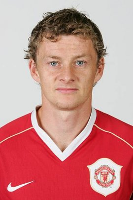 photo Ole Gunnar Solskjaer